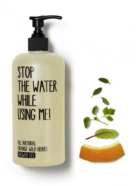 Gel de ducha de Naranja y Hierbas Salvajes 200ml - Stop the Water While Using Me