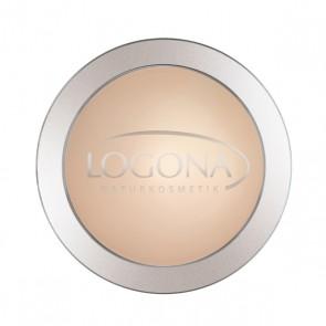Maquillaje Polvo Compacto Light Beige 01 - Logona