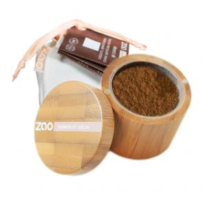Zao Makeup - Polvo Seda Mineral 506 - Beige Brun