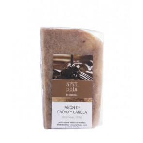 Amapola Biocosmetics Jabón de Cacao y Canela