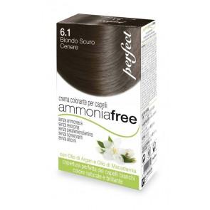 Ammonia Free Rubio Oscuro Ceniza 6.1 Perfect Tinte