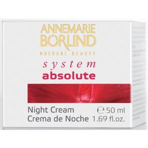 Annemarie Börlind System Absolute Crema de Noche Rich Nutritiva