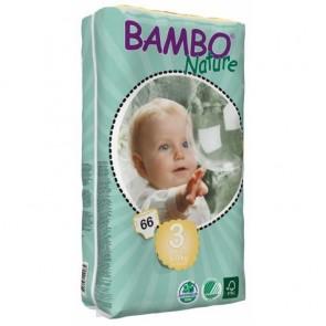 Pañal Ecológico Midi 5-9kg - 66 unidades - Bambo