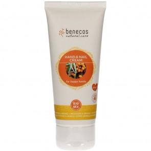Benecos - Crema manos y uñas Espino Amarillo/Naranja