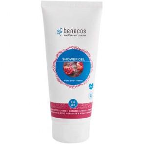 Benecos - Gel de Baño Granada y Rosa