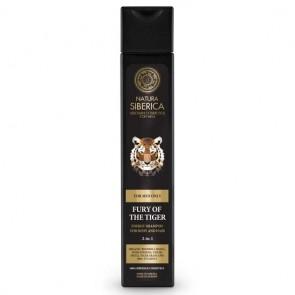 Natura Siberica La Furia del Tigre Champú Energizante para Cuerpo y Cabello 2 en 1