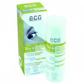 Eco Cosmetics Crema Facial Hidratante con Color FPS 15