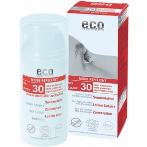 Eco Cosmetics Protector Solar Loción FPS 30 Antimosquitos