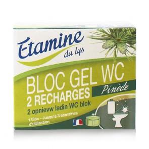 Etamine du Lys Recarga Gel Desinfectante Inodoro Bloque x2