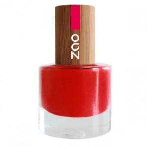 Zao Makeup - Esmalte de Uñas 650 Rouge Carmin