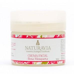 Crema Facial Rosa Mosqueta - Naturavia