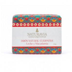 Jabón Clepatra con Leche y Aceite de Macadamia - Naturavia