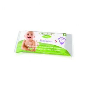 Toallitas Bio para Bebé  - Organyc