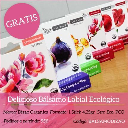 Regalo - Bálsamo Labial Ecológico de Dizao Organics