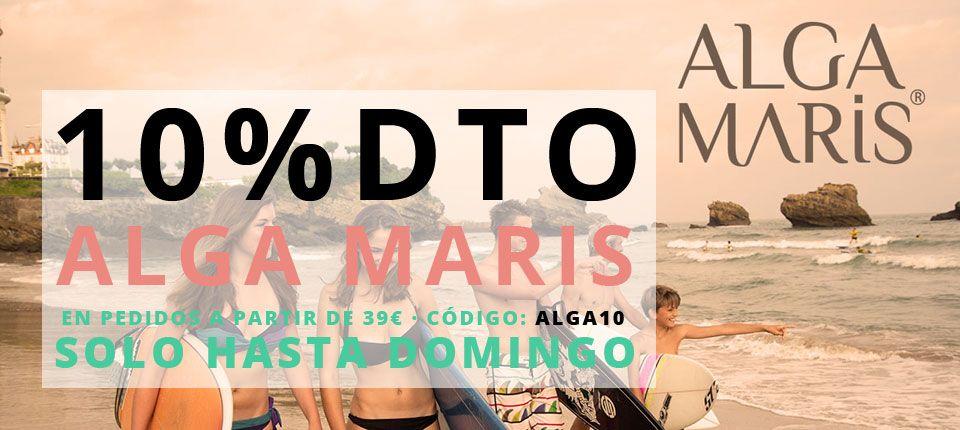 -10% dto en Alga Maris solo hasta Domingo