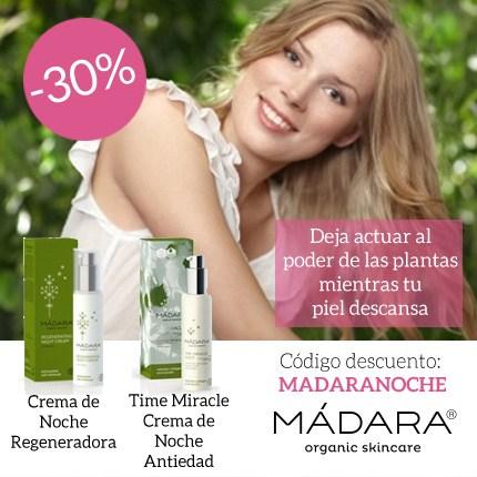 30% de descuento en las cremas de noche de Mádara