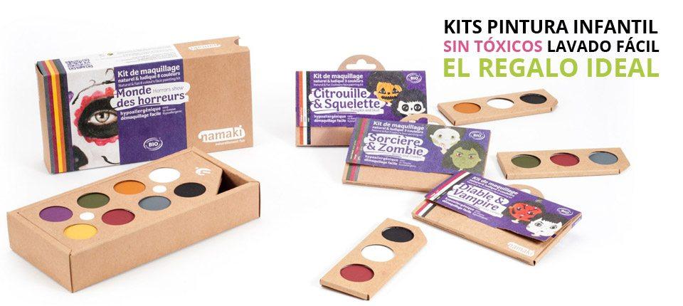 Kits de Maquillaje Ecológico para niños, el regalo ideal!