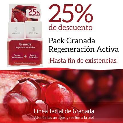 25% en el Pack Granada de Weleda