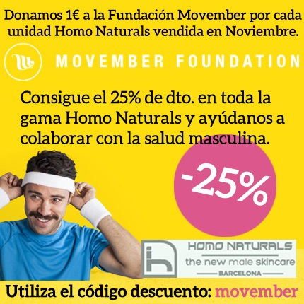 Movember con Homo Naturals