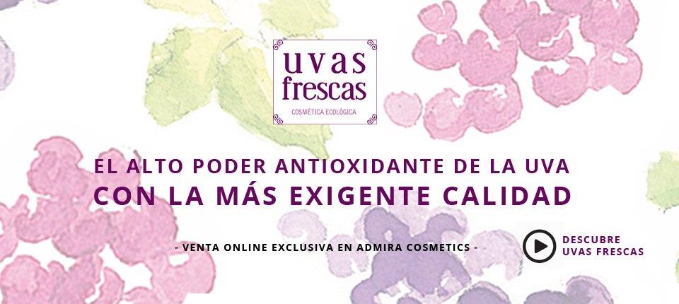 Uvas Frescas en Admira Cosmetics
