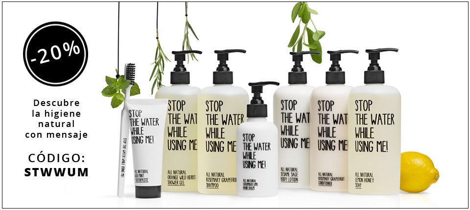 Comprar Stop The Water While Using Me en Admira Cosmetics