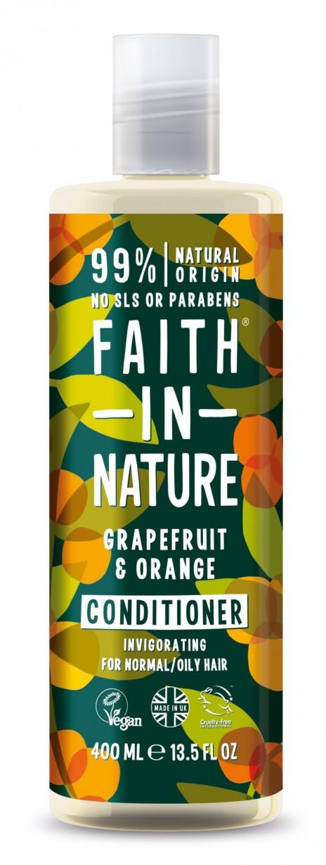 Faith in Nature Acondicionador de Pomelo y Naranja