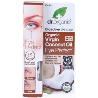 Dr Organic Contorno de Ojos Aceite de Coco Organico