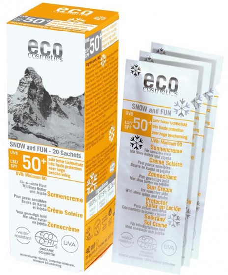 Eco Cosmetics Protector Solar Snow & Fun FPS 50+