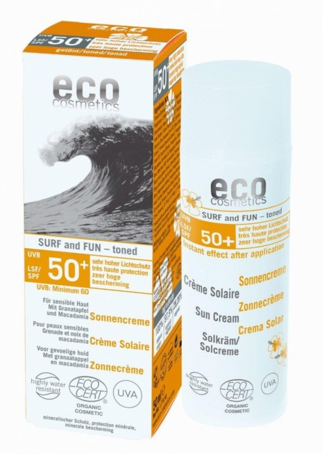 Eco Cosmetics Protector Solar Fun & Surf Color FPS 50+