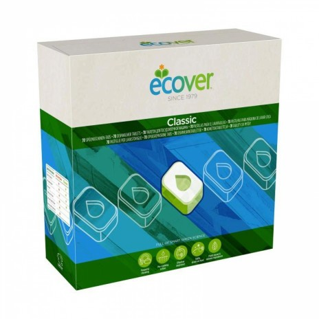 Ecover - Lavavajillas 70 Tabletas