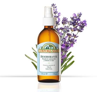 Desodorante de Tilo y Salvia - Corpore Sano