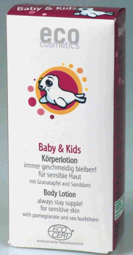Eco Cosmetics Loción Corporal Eco Baby & Kids para Pieles Sensibles