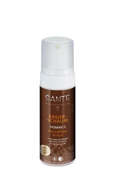Espuma de afeitar Homme Bio-Cafeína & Acai - Sante
