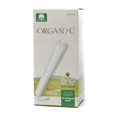 Tampón Súper con Aplicador de Algodón 100% Orgánico  - Organyc