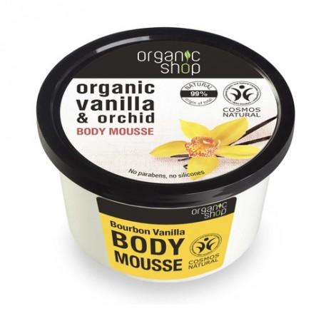 Organic Shop Mousse Corporal Vainilla Bourbon