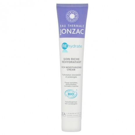 Jonzac - Rehydrate Crema Rica Hidratante Pieles Sensibles y Deshidratadas