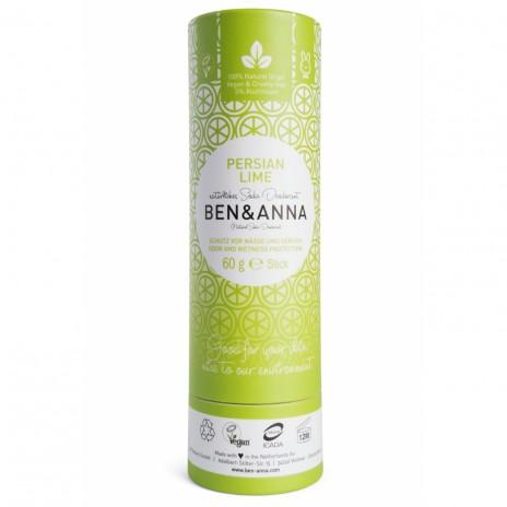 Ben & Anna Desodorante Natural de Bicarbonato en Stick Persian Lime