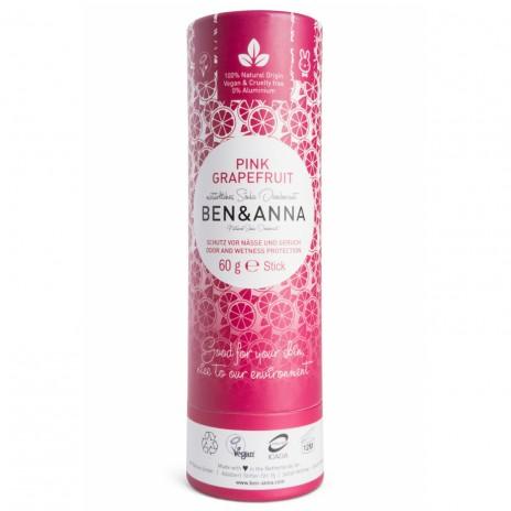 Ben & Anna Desodorante Natural de Bicarbonato en Stick Pink Grapefruit