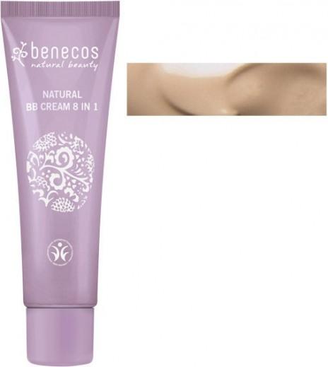 Benecos Crema BB 8 en 1 Fair (Claro) Bio