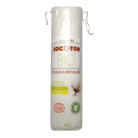 Bocoton - Discos Desmaquilladores de Algodón Bio