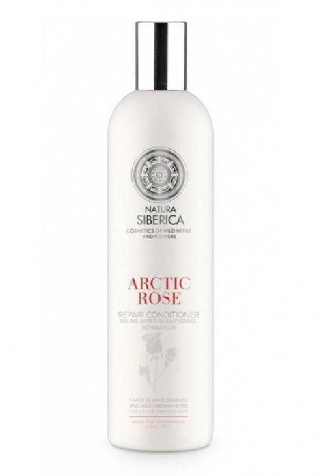 Natura Siberica Bálsamo Capilar Reparador Rosa Ártica