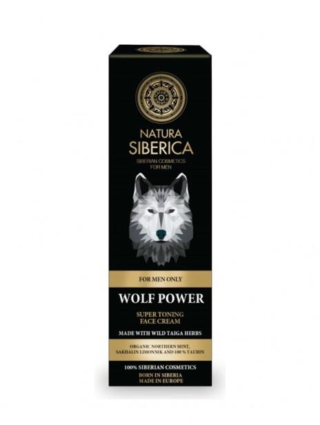 Natura Siberica El Poder del Lobo Crema Facial Súper Tonificante