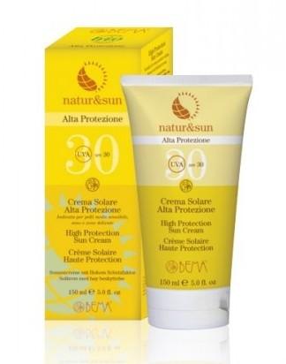 Crema Solar Alta Protección SPF30 - Bema