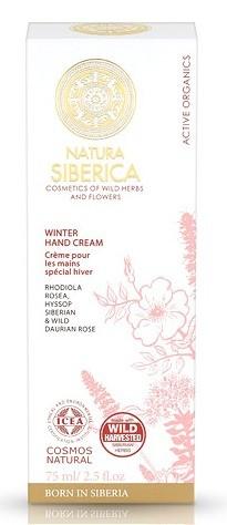 Natura Siberica Crema de Manos Especial Invierno