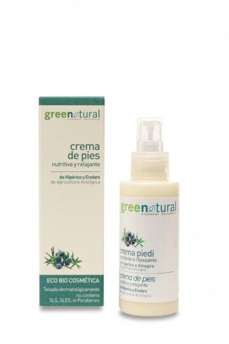 Greenatural - Crema de Pies Nutritiva y Relajante