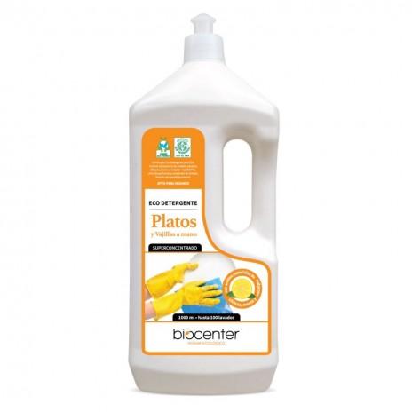 Biocenter Eco Detergente para Platos y Vajillas a mano