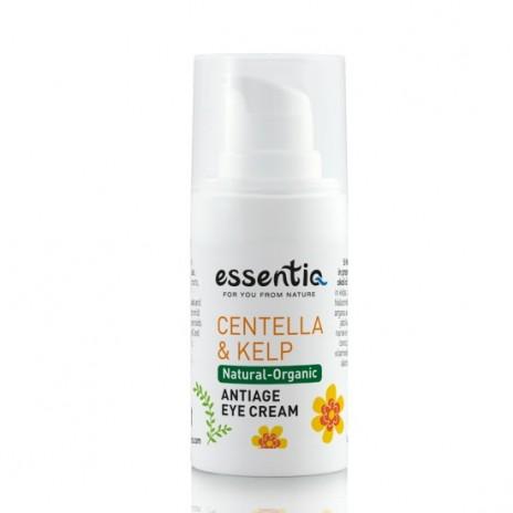 Essentiq Crema Contorno de Ojos Antiedad con Centella Asiática y Algas