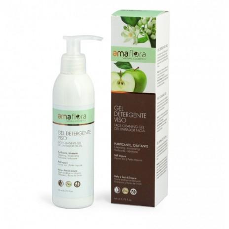 Amaflora Gel Limpiador Facial Purificante Manzana y Flores de Limón