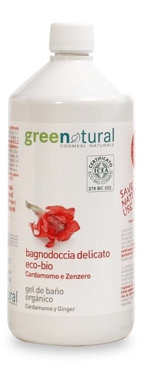 Greenatural - Gel Cardamomo Jengibre – Bio