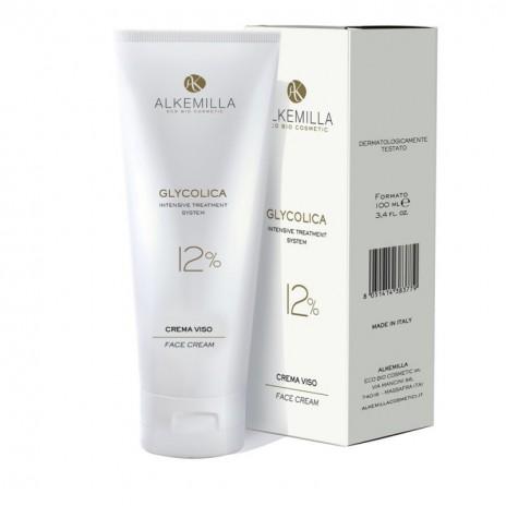 Alkemilla Glycolica Crema Facial 12%